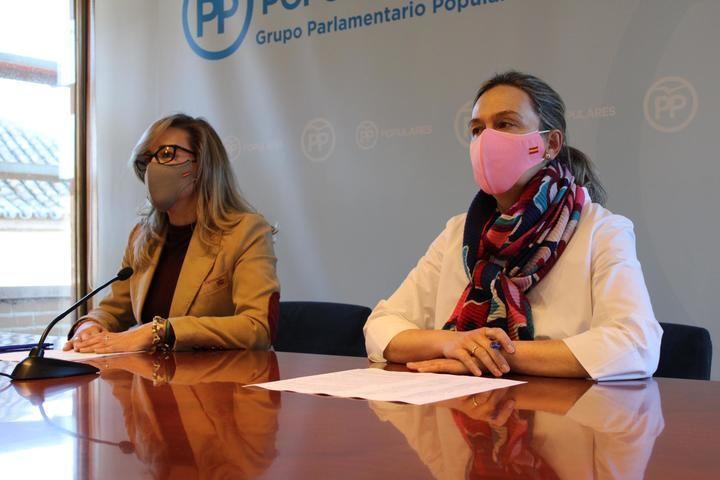 """El PP denuncia que las Cortes Regionales están al """"servicio de Page"""" que """"impide"""" la actividad parlamentaria con la """"complicidad"""" de Bellido"""
