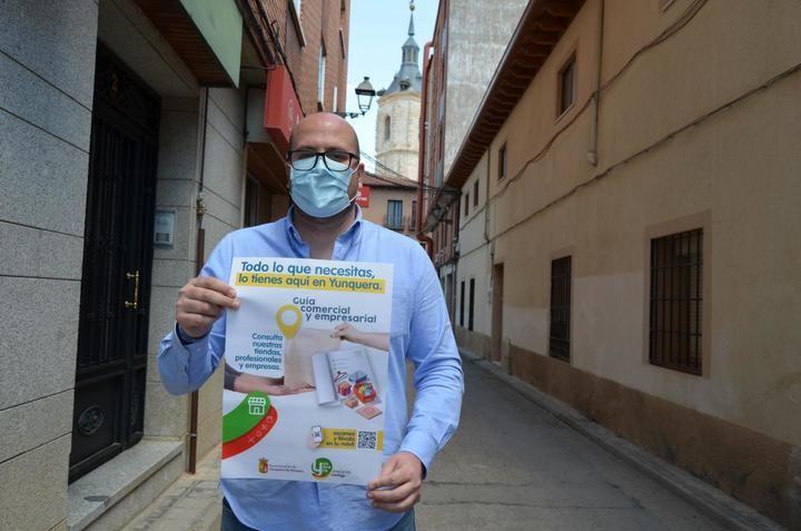 El Ayuntamiento de Yunquera de Henares presenta la 'Guía Comercial y Empresarial' del municipio
