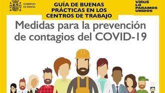 El Gobierno lanza una Guía de buenas prácticas en los centros de trabajo frente al coronavirus