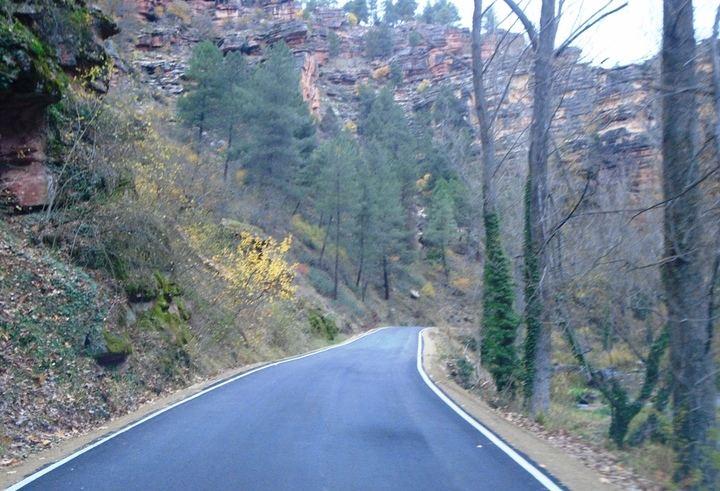 Reabierta al tráfico la GU-958 del Santuario de la Virgen de la Hoz a Cuevas Labradas