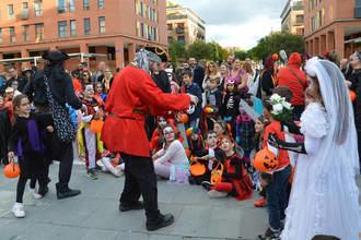 Más de 3.300 personas participan en las actividades de Halloween en Azuqueca