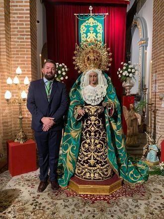 Rubén Contera Calleja ya es el nuevo Hermano Mayor de la Cofradía de Nazarenos de Ntro.Padre Jesús de la Salud y María Stsma. De La Esperanza Macarena
