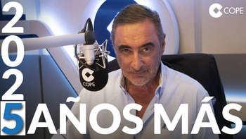 Carlos Herrera renueva por cinco años su compromiso con los oyentes de COPE
