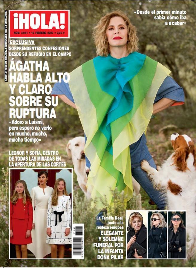 """¡HOLA! : Ágatha Ruiz de la Prada : """"Adoro a Luismi, pero espero no verlo en mucho, mucho tiempo"""""""