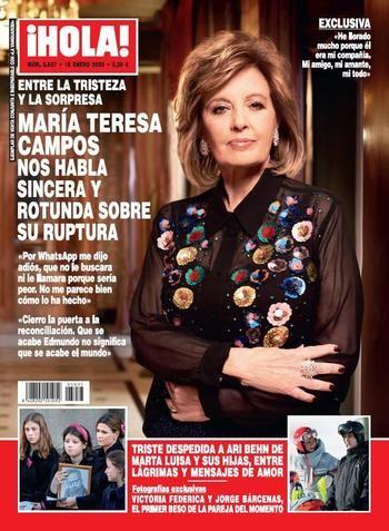 ¡HOLA! La reacción de Cristina Cifuentes tras los rumores de su participación en 'Supervivientes'