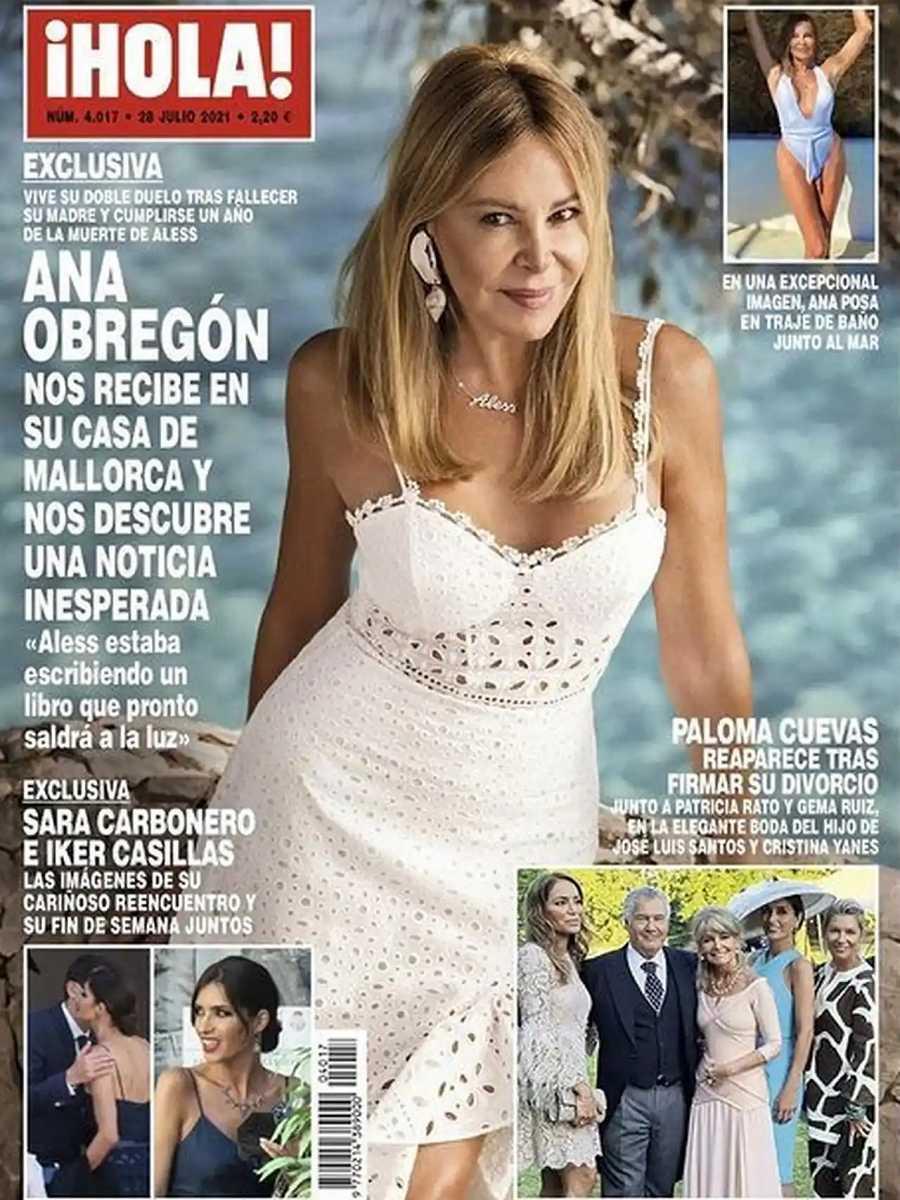 ¡HOLA! Ana Obregón nos abre su corazón, roto en pedazos