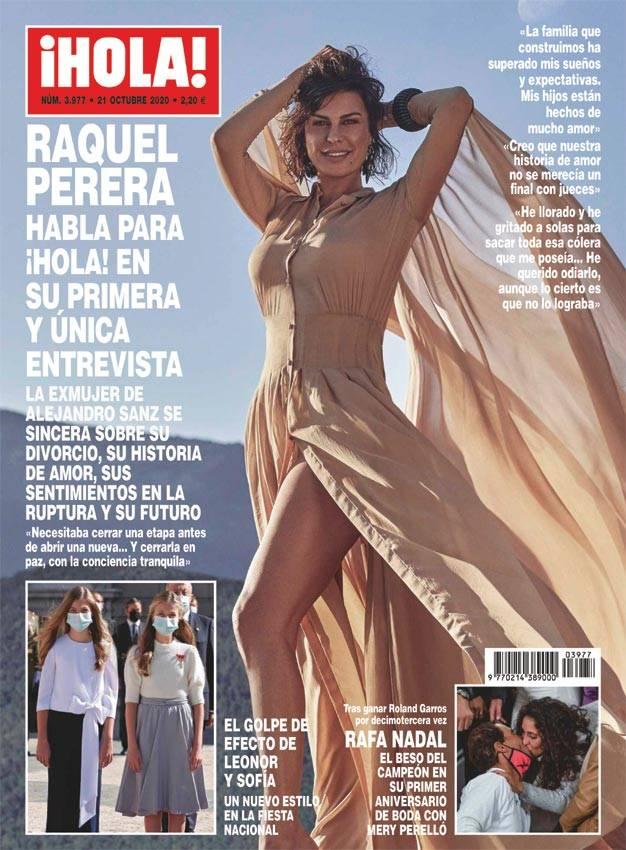 ¡HOLA! Rafa Nadal, el beso del campeón en su primer aniversario de boda con Mery Perelló