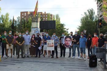 Emotivo homenaje de NNGG Guadalajara en memoria de Miguel Ángel Blanco