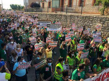 Horche se volverá a manifestar el próximo 6 de agosto EN CONTRA DE LOS OKUPAS