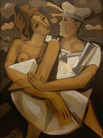 Cartas con mucho amor y humor entre un marinero en alta mar y su novia camarera en un bar de carretera