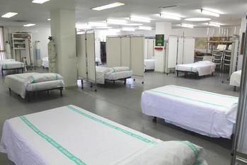 El Hospital de Guadalajara habilita por el coronavirus un área de preingreso en la Unidad de Día de Geriatría para la atención ante un eventual aumento de los ingresos