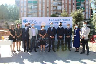 El Hospital La Antigua de Guadalajara pone la primera piedra para su ampliación
