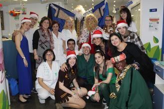 Con la tradicional Fiesta de Navidad arrancan los festejos navideños en el Hospital de Guadalajara