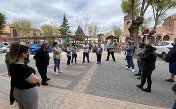 Los hosteleros de Alovera se movilizan contra las medidas sanitarias y proponen una reformulación con el apoyo del Ayuntamiento
