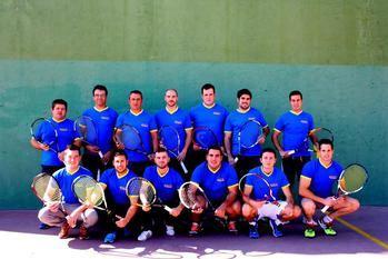 Clasificaciones J12 Liga Frontenis Guadalajara