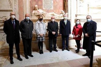 La Fundación Iberdrola España firma un convenio con Ayuntamiento y Cabildo para la iluminación ornamental exterior de la Catedral de Sigüenza