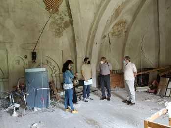 Firmado el contrato de las obras de restauración de la antigua iglesia de San Simón, futuro Centro de Innovación Rural de Brihuega