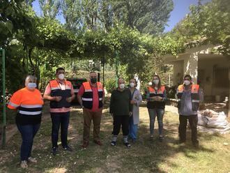 Illana ha entregado más de 600 pedidos de comida y farmacia a mayores vulnerables desde el inicio del estado de alarma