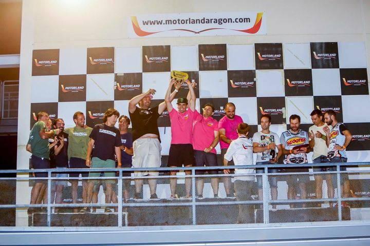 Gran victoria del Equipo del Amor en Alcañiz