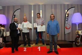 Mariano Bravo y el Club Motocross Yunquera recogieron sus premios de la Federación Castellano-Manchega de Motociclismo