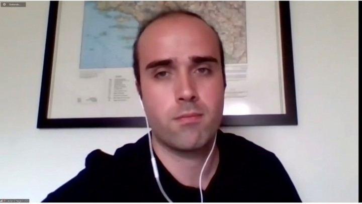 """Javier Ortega (VOX): """"El sectarismo de José Luis Blanco le incapacita para representar a los azudenses"""""""