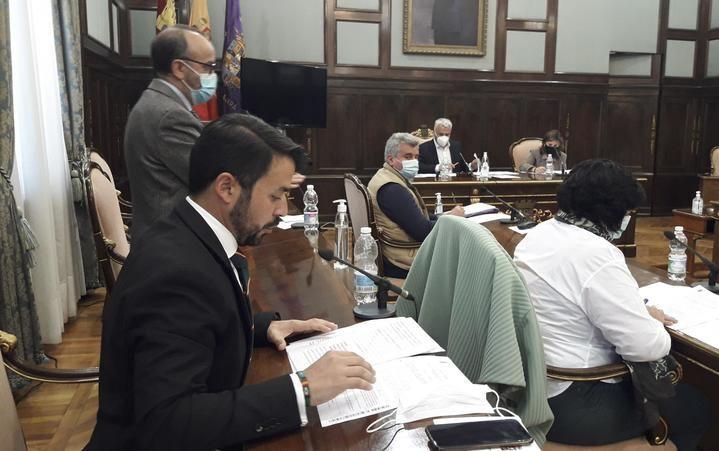 PSOE y Podemos niegan en la Diputación de Guadalajara el apoyo que VOX pedía para los gancheros del Alto Tajo