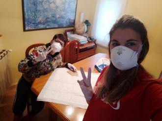 60 mujeres de Jadraque confeccionan mascarillas para vencer al virus y repartir en su comarca