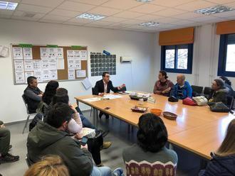 Jaime Sanz explica a las familias los motivos de los fallos en las calderas del colegio de La Muñeca
