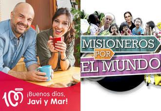 Javi y Mar, de CADENA 100, y 'Misioneros por el Mundo', de TRECE, premiados con la Antena de Oro