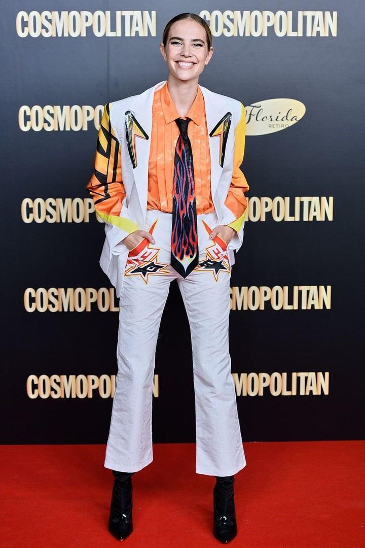 Brisa Fenoy con botas JCPAJARES en los Cosmo Awards