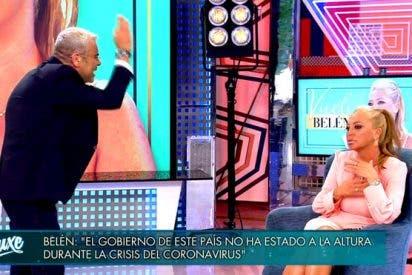 Jorge Javier Vázquez dice que Pedro Sánchez le envió un mensaje tras el enfrentamiento con Belén Esteban