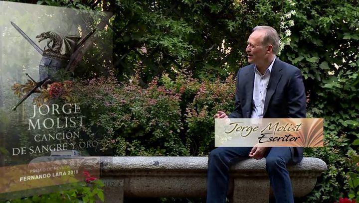 """El ganador del Premio Fernando Lara 2018, Jorge Molist presentará su libro """"Canción de Sangre y Oro"""" en la Biblioteca de Alovera"""