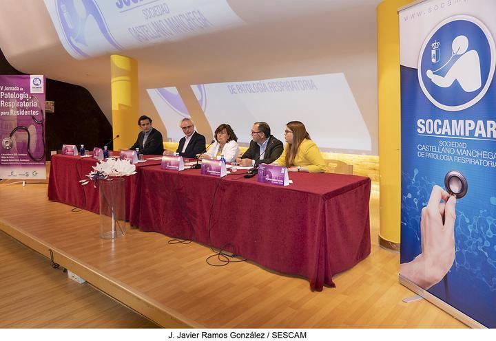 Guadalajara, lugar de encuentro de especialistas presentes y futuros en Neumología durante la V Jornada de Patología Respiratoria para residentes