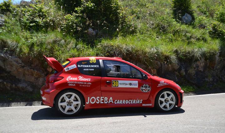 Joseba Gayoso se consolida como líder entre los Turismos del Campeonato de Cantabria de Montaña tras la Subida a Alisas. Foto: Toño Ruiz Garmendia / SPORT FOTO