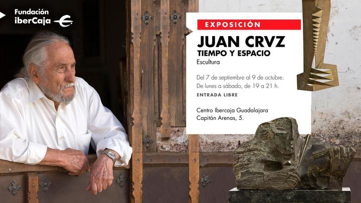 """""""Tiempo y Espacio' las esculturas de Juan Cruz que abrirán la Sala de Exposiciones del Centro IberCaja de Guadalajara"""