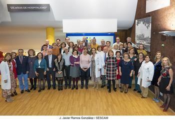 52 profesionales sanitarios del Hospital Universitario de Guadalajara reciben su Acto de Homenaje por su Jubilación