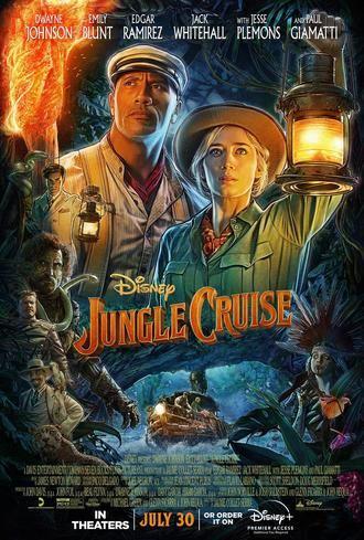 La última peli de Dwayne Johnson : Jungle Cruise