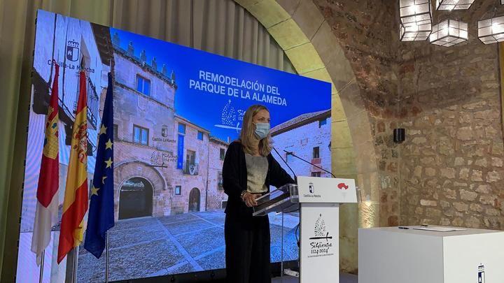 La Junta y el Ayuntamiento de Sigüenza firman el compromiso de ejecutar el gran proyecto de La Alameda
