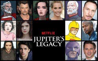 Netflix calienta motores para el estreno de 'Jupiter's Legacy' el 7 de mayo