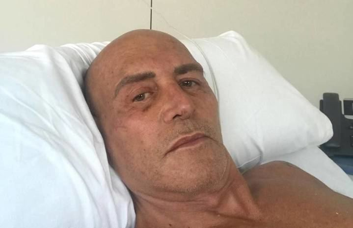 Primera imagen de Kiko Matamoros tras su operación de vesícula