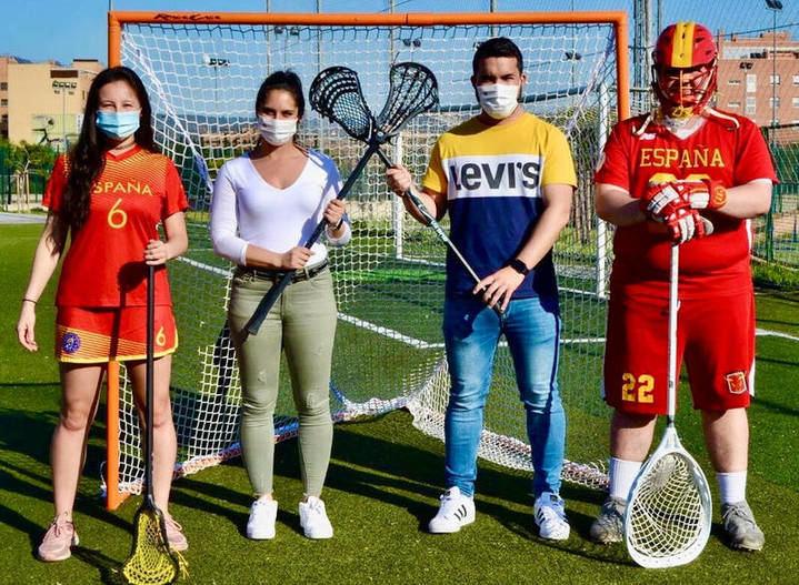 Azuqueca acoge dos concentraciones de las selecciones absolutas de Lacrosse