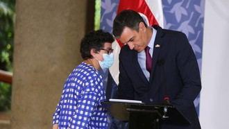 El juez imputa a la exministra Laya por la entrada ilegal de Ghali en España