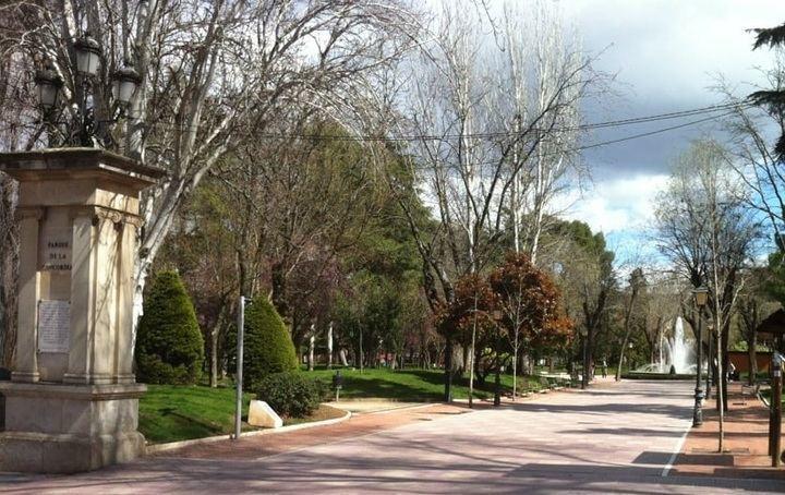 El Ayuntamiento de Guadalajara cierra al tránsito parques y zonas verdes por rachas de viento en la ciudad que podrán superar...¡los 100km/h!