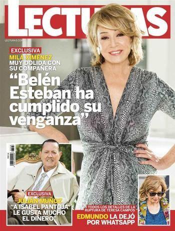 """LECTURAS Julián Muñoz destapa los secretos de Isabel Pantoja: """"Le gusta mucho el dinero"""""""