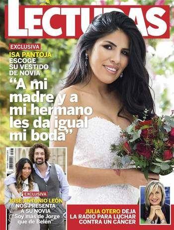 """LECTURAS EXCLUSIVA Isa Pantoja escoge su vestido de novia: """"A mi madre y a mi hermano les da igual mi boda"""""""