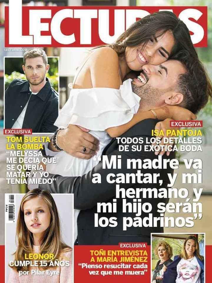 LECTURAS Adara Molinero, hundida, estalla contra los que ponen en duda su relación con Rodri Fuertes