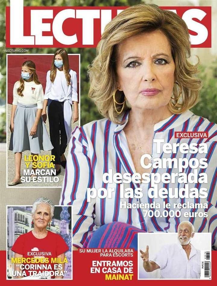 LECTURAS María Teresa Campos, desesperada por las deudas: Hacienda le reclama 700.000 euros