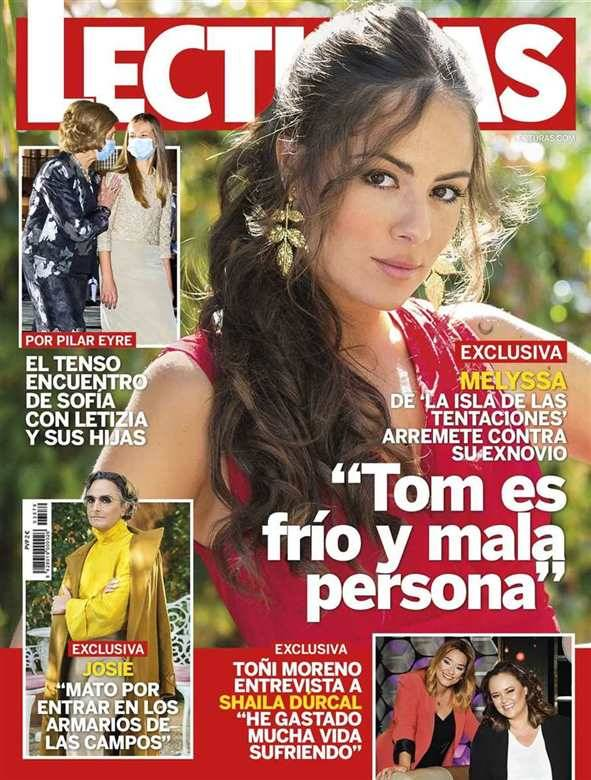 LECTURAS La pareja de Chelo, Marta Roca, muy preocupada por su forma de ganar dinero en 'Sálvame'