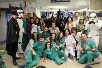 El Hospital de Guadalajara recibe la visita de la Legión 501-Spanish Garrison de Star Wars