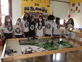 Las chicas del colegio de Lupiana se meten en la Final de la First Lego League